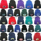 47 Brand NFL Raised Cuff Knit Beanie Knit Skull Skully Cap Hat One Size NWT