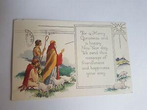 Greeting-Postcard-Vintage-Religious-New-Year