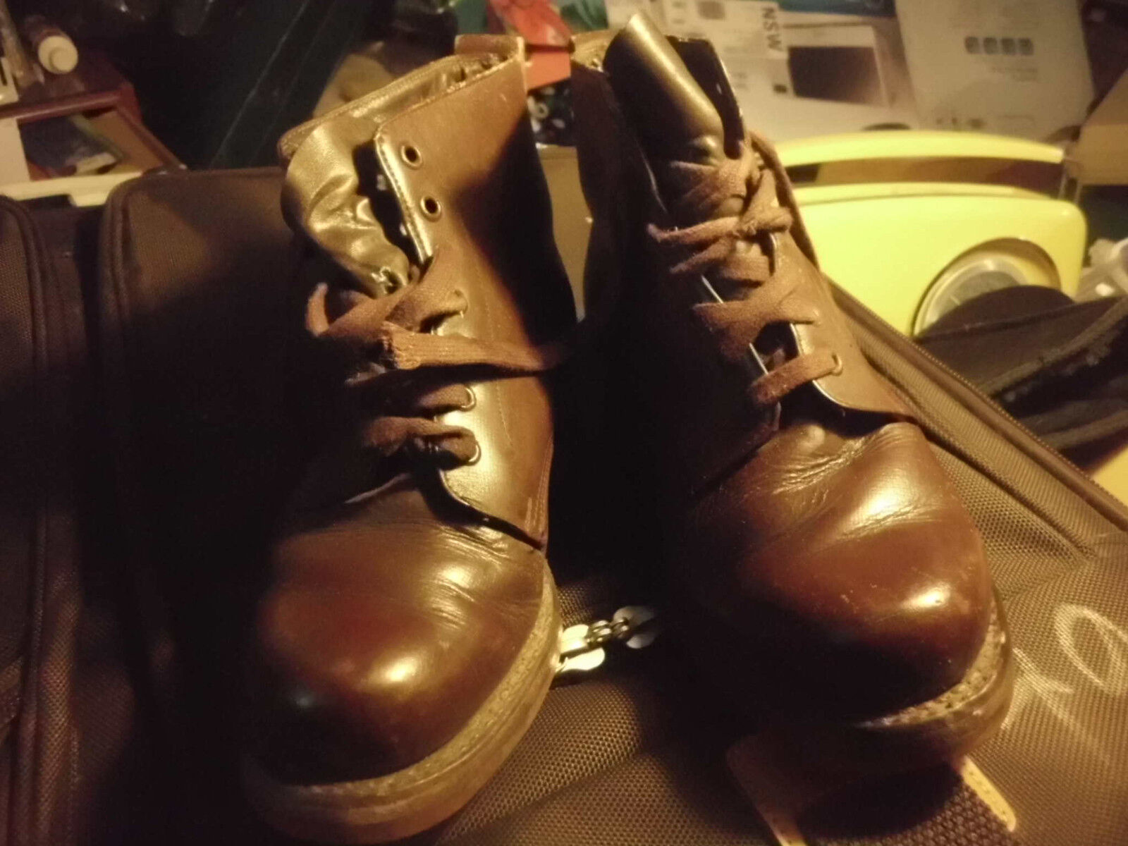 LADIES SIZE Stiefel AMERICAN SHOE FACTORY SIZE LADIES 5.5 STEAMPUNK GOTH 44dc79