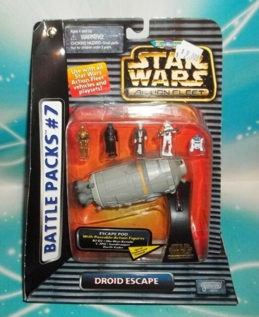 espace poursuite-Gold Series 7-Pack Star Wars Micro Machines Battle for Jakku