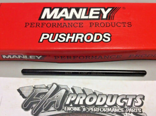 """Manley 25729-16 Swedged End 7.100/"""" Long .080/"""" Wall 5//16/"""" 4130 Push Rod Set Of 16"""