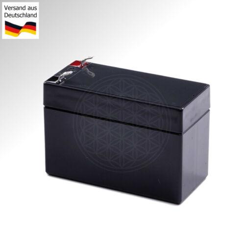 Rasentraktor Batterie für Hanseatic Rider 6100E WARTUNGSFREI AGM 12V Rasenmäher
