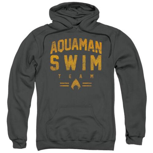 AQUAMAN SWIM TEAM Vintage Style Licensed Sweatshirt Hoodie