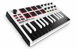 AKAI-Professional-MPK-Mini-MKII-25-Key-Portable-USB-MIDI-Keyboard-with-16-Backli