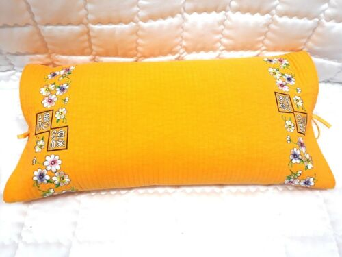 Korean traditional buckwheat   Yellow pillow comfortable sleep home deco