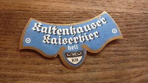 OLD-1950s-AUSTRIA-BEER-LABEL-BRAUEREI-KALTENHAUSEN-SALZBURG-HELL