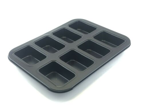 NEW 8 Cup Mini Loaf Pan Non-stick Meat Loaf Tin Baking Tray Dish Bakeware $29
