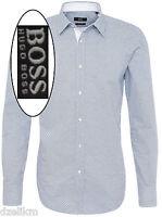 Hugo Boss Black Label By Hugo Boss Regular Fit Cotton Patterned Sport Shirt