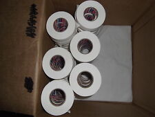 """WHITE ATHLETIC TAPE 162 rolls 1""""x25yds.  SPECIAL SALE   * FIRST QUALITY *"""