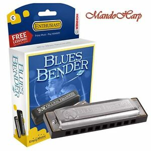Hohner-Harmonica-585-20-Blues-Bender-PAC-SELECT-KEY-NEW