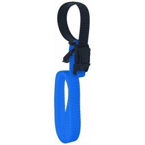 """Boat Marine Adjustable Blue Fender Holder Strap Adjusts From 4/"""" To 22/"""""""