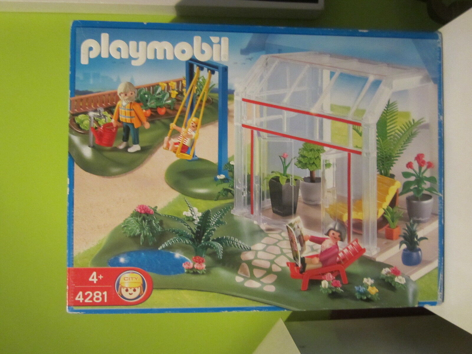 SET PLAYMOBIL REFERENCIA 4281 INVERNADERO