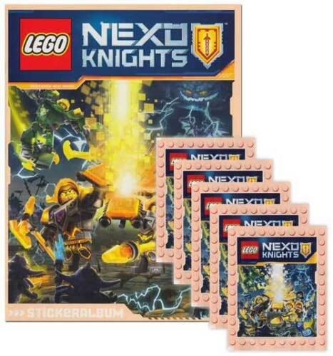 Blue Ocean Sticker LEGO Nexo Knights sammelset album 5 Booster édition allemande