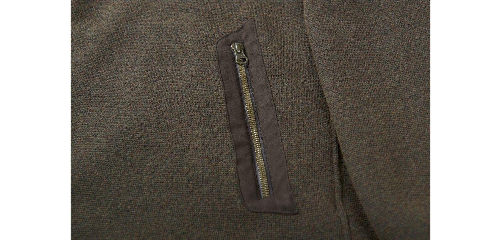 novedad  härkila härkila härkila chaqueta de punto norja HSP-activwool con windblocker-Shadow marrón 34ad4e