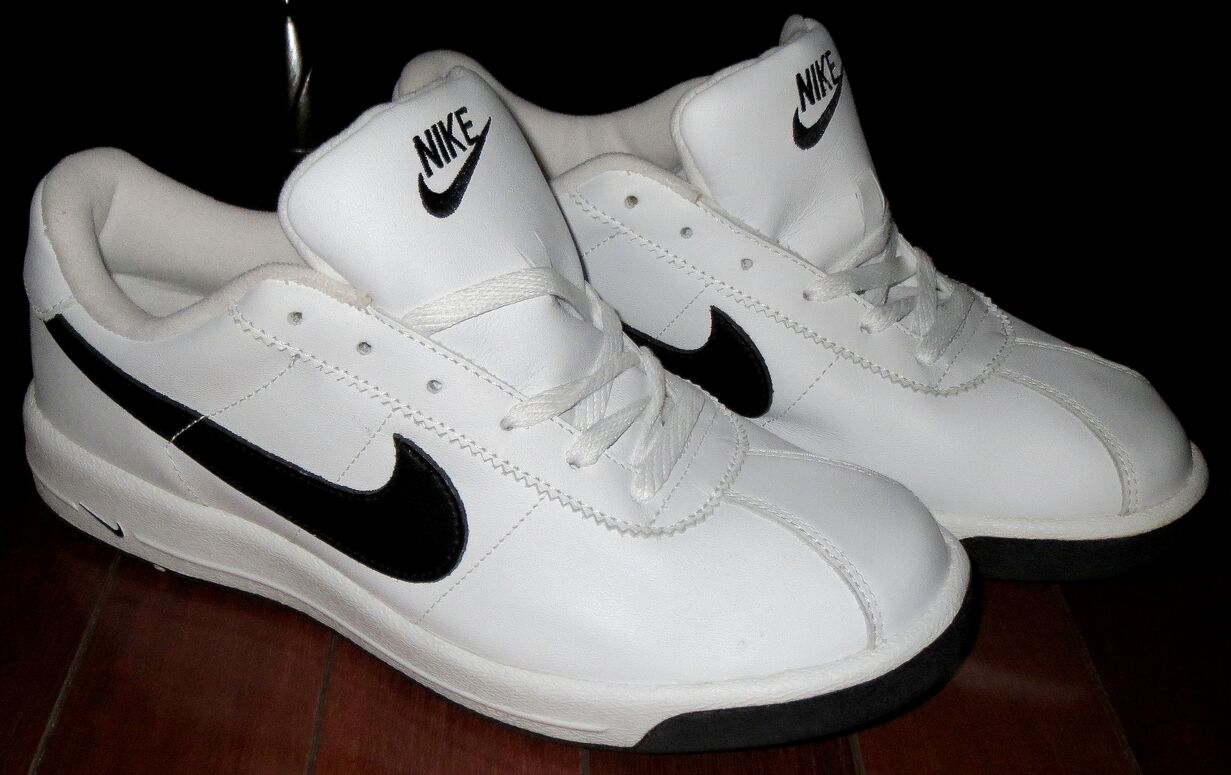 COLLECTORS NIKE CORTEZ WHITE BLACK Uomo SNEAKERS STORED AWAY SINCE 2003 12