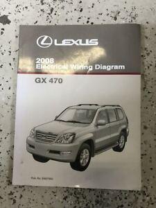 2008 Lexus GX470 GX 470 Electrical Wiring Diagram Manual ...