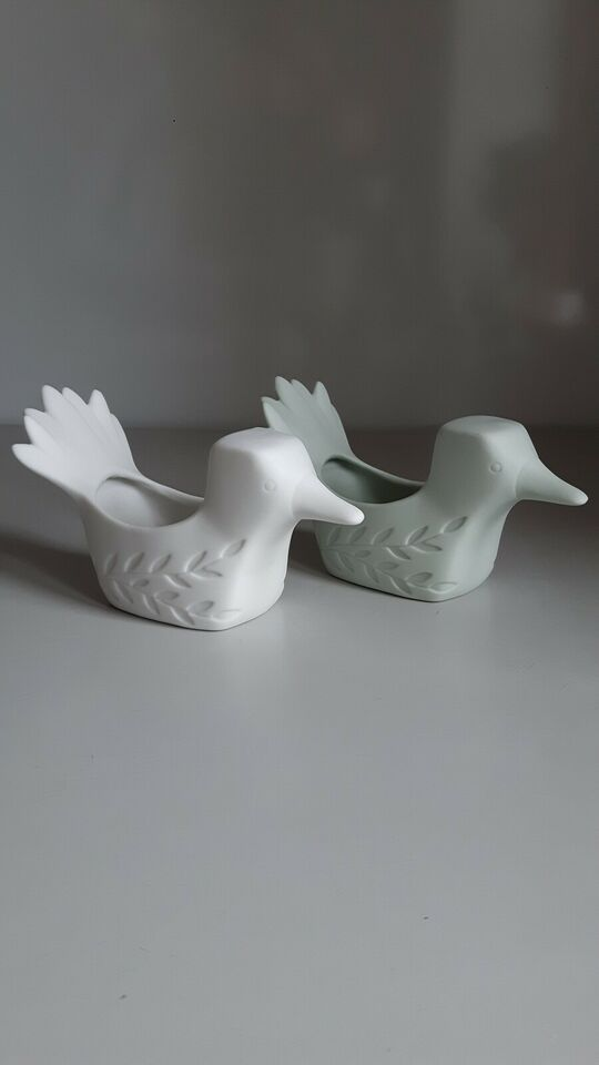 Porcelæn, Birgitte Frigast - Birdie
