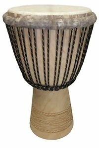Paragon Heartwood Djembe Drum From Mali - 13x24 (Melina Wood) - Professional