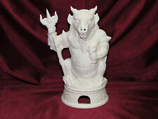 Ceramic Bisque Demon Smoker w/ Base U Paint Ready to Paint Incense