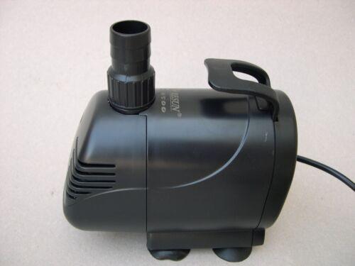 Pumpe 4500 L//h für Wasserfall Bachlauf Gartenteich Filterpumpe Teichfilter