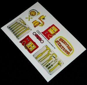 Remplacement-Pre-Cut-Autocollant-sticker-pour-lego-344-2-Fabuland-station-service-1979