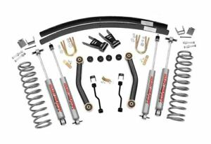 Image Is Loading Rough Country 4 5 034 Suspension Lift Kit