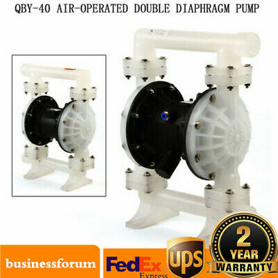"""Air Operated Double Diaphragm Pump 1.5/"""" Inlet Outlet Petroleum Fluids 35.2GPM US"""