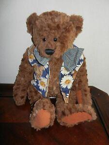 Ganz Cottage Collectibles Stuffed Plush Teddy Bear Tedrick Mwot Large 22 Ebay