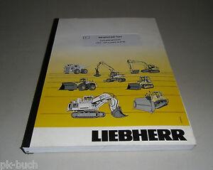 Instructions Per I' Uso Liebherr L524 - 438 A Partire Da 8796 Stand 2004