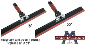 Marshalltown-Adjustable-Squeegee-18-034-or-22-034-Skimming-Spatula-Trowel-Squeeges