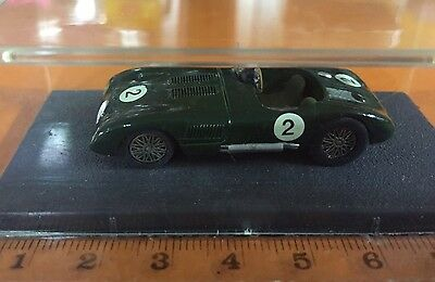 Jaguar Type C Diecast Piccolino Miniature Métal Model Car 24h Du Mans Handmade