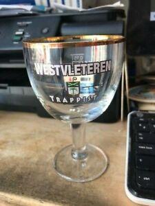 Trappist Westvleteren glas verre glass new 0,15 l 2020