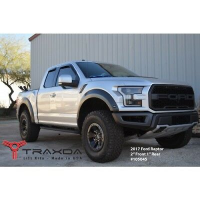 2017 Ford F150 Lifted >> 2017 2018 Ford F150 Raptor 2 Front 1 Rear Leveling Lift Kit Traxda 105045 Ebay