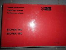 Same SILVER 160 180 2002 : catalogue de pièces