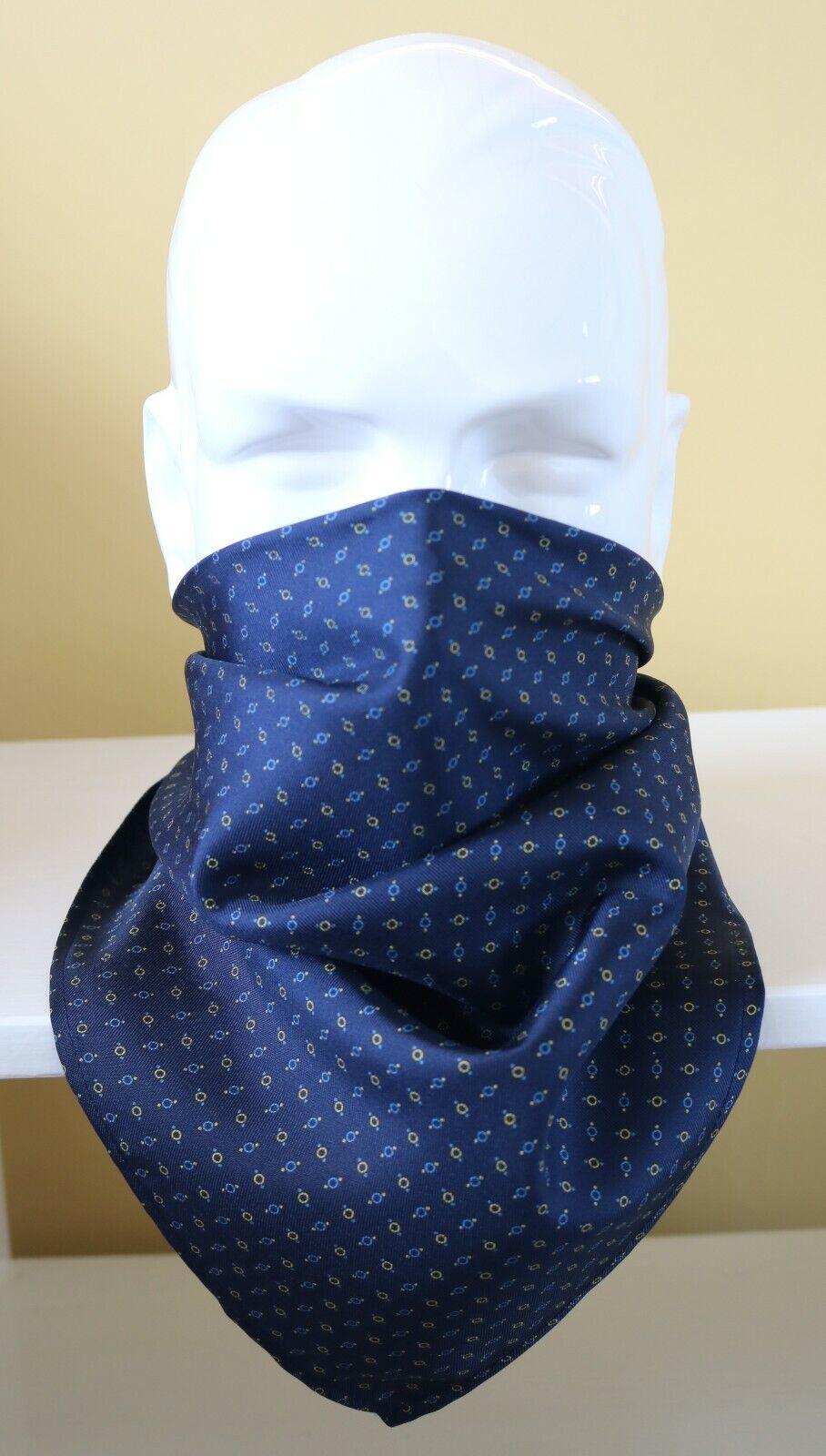 100% Silk Neckerchief, cravat or face covering. 25