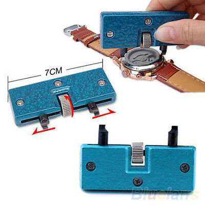 Stunning Rectangle Watch Back Case Cover Opener Remover Wrench Repair Kit Tool