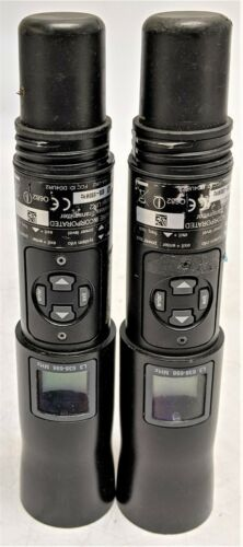 Lot of 2 Shure UR2 L3 638-698MHz Wireless Microphones