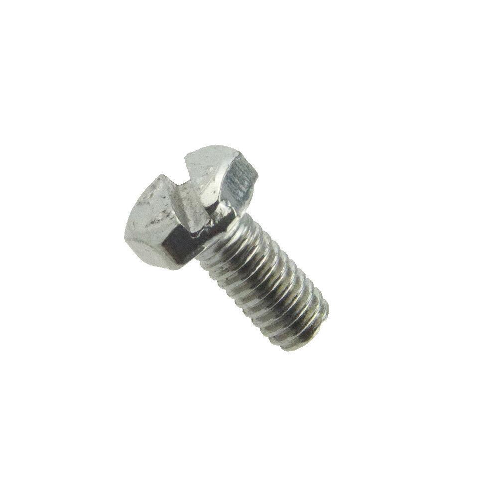 Sechskantschrauben mit Gewinde bis Kopf DIN 933 Edelstahl A2 mit Schlitz M4 - M8