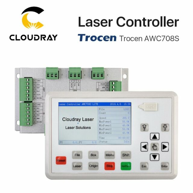 Trocen AWC708S CO2 Laser Controller DSP for CO2 Laser Engraving Cutting Machine