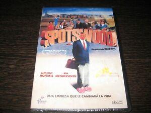 Spotswood DVD Anthony Hopkins Ben Mendelsohn Sigillata Nuovo