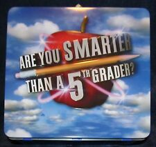 Are You Smarter Than a 5th Grader - Collector Lunchbox with CD Game
