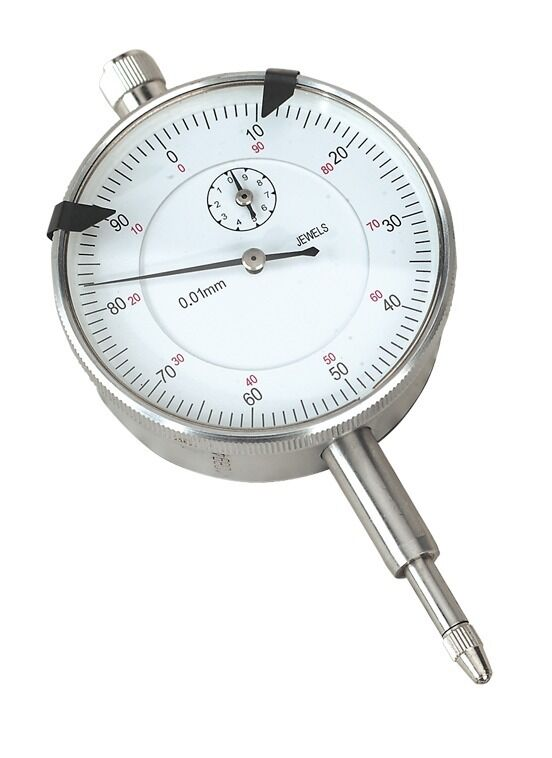 Sealey Dial Gauge Indicator 10mm Travel Metric AK961M