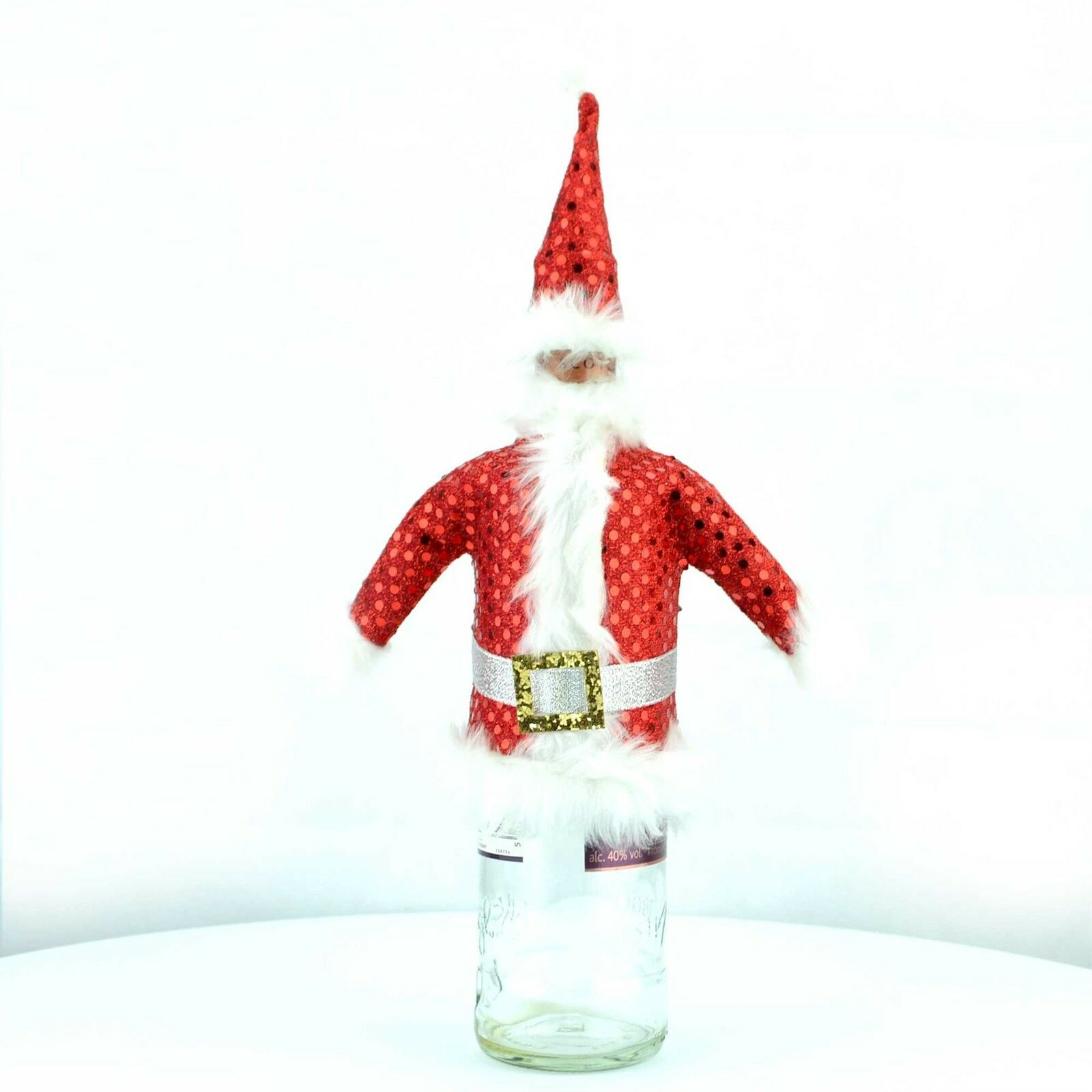 100 pk Christmas Bottle Cover Gentleman Christmas Party Decoration Party Supply