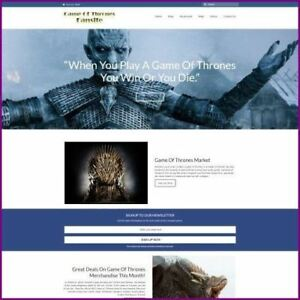 GAME-OF-THRONES-Website-Earn-703-92-A-SALE-FREE-Domain-FREE-Hosting-TRAFFIC