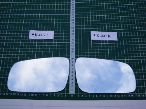 Rétroviseur Extérieur Miroir De Verre Ersatzglas Skoda Octavia Type 1u à Partir De 1996-2004 L o R Sph