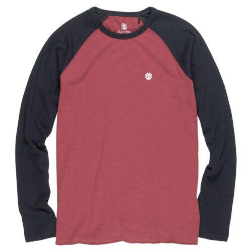 Element NEW Blunt Long Sleeve T-Shirt Port BNWT