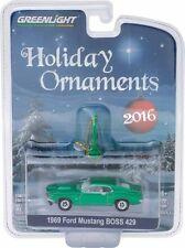 GREENLIGHT 2016 HOLIDAY ORNAMENTS 1969 FORD MUSTANG BOSS 429 CAR 40010-D