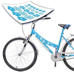 Deutschland Flagge als Aufkleber Sticker Fahrrad Auto style4Bike TOP Namensaufkleber 2er Set inkl S S4B0177