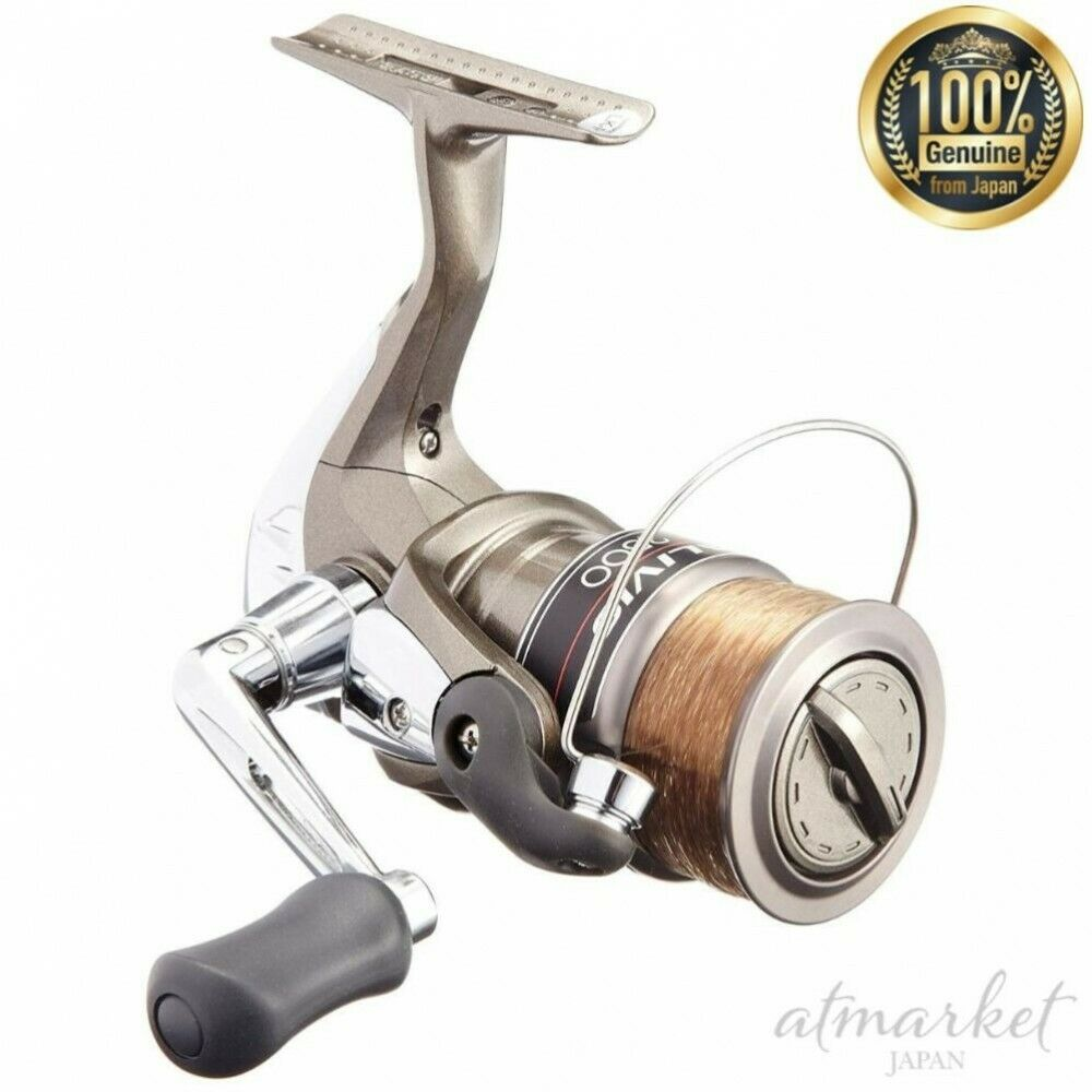 Shimano Rolle Alibio Alibio Alibio 2500 No.3 120m mit Gewinde Fischen Original aus Japan Neu f7bdb2