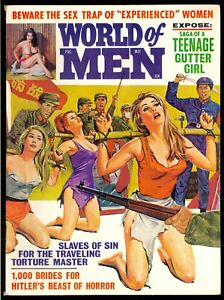 World-of-Men-Pulp-Magazine-Vol-6-3-May-1968-Bondage-Fine-6-5